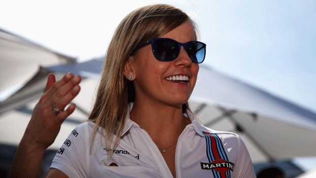 Susie Wolff defende a Williams