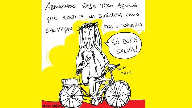 Abençoado seja todo aquele que acredita na bike, por Rey Berto