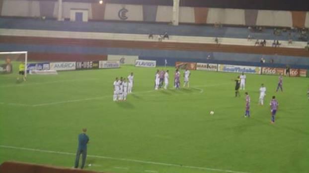 Goiás agora está na terceira posição do grupo 1