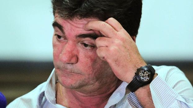 Andrés Sanchez foi o escolhido para explicar a demissão de Mano Menezes da seleção em coletiva