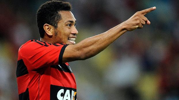 Brasileiro Flamengo Hernane 'Brocador' Santos 12/09/13