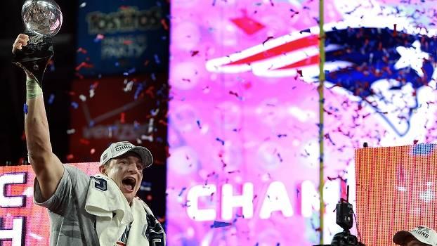 New England Patriots deu mais um título para Boston no último domingo