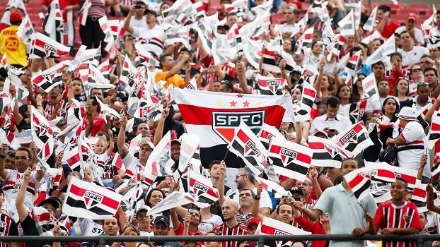 Resultado de imagem para São Paulo torcida no morumbi