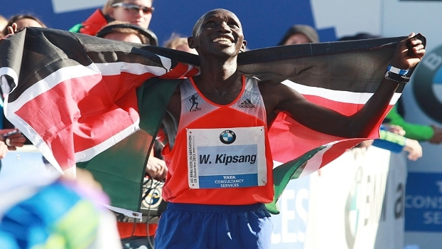 Maratona de Berlim - Wilson Kipsang recordista mundial