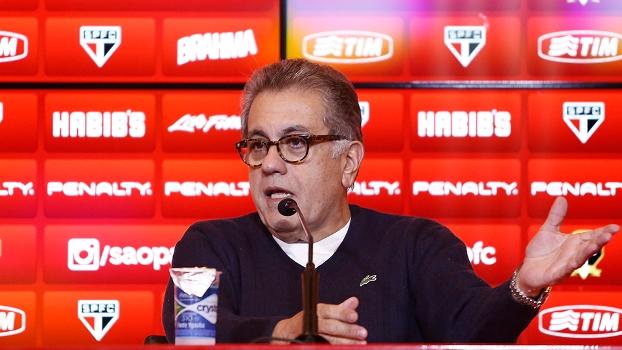 Carlos Miguel Aidar, presidente do São Paulo, não foi convidado à festa do Palmeiras