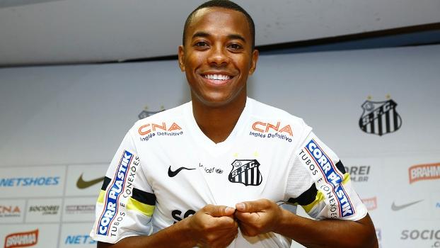 Robinho no Santos FC