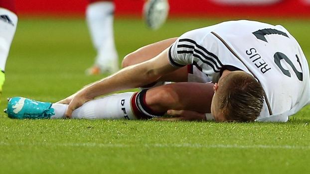 Reus lesionou o tornozelo no amistoso da Alemanha contra a Armênia e está fora da Copa