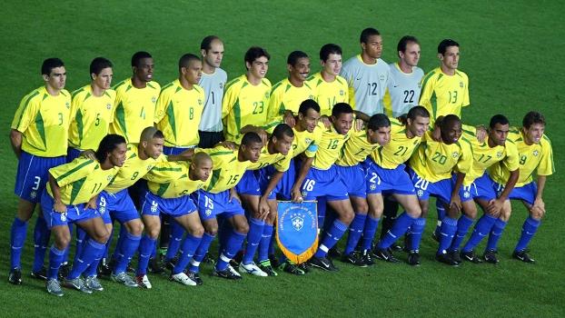 Seleção Brasileira Final Brasil Alemanha Copa do Mundo 2002 30/06/2002