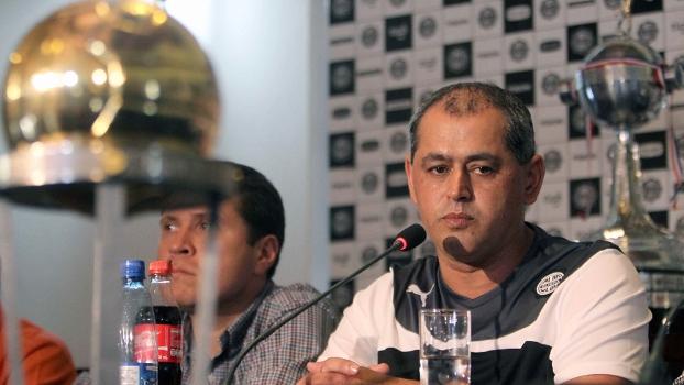 Arce foi apresentado nesta terça-feira no Olimpia
