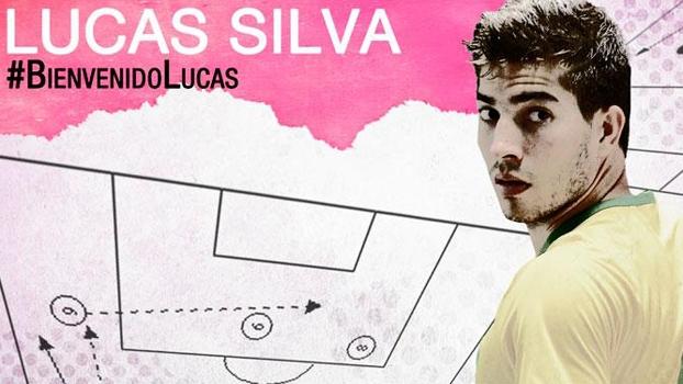 No Twitter, Real Madrid confirma a contratação de Lucas Silva