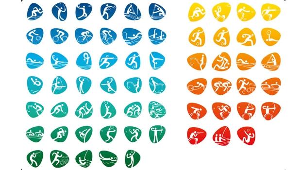 Pictogramas dos Jogos Olímpicos do Rio-2016