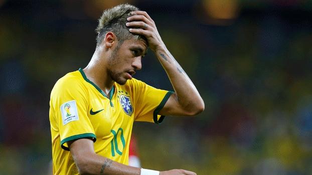 Neymar lamenta empate entre Brasil e México