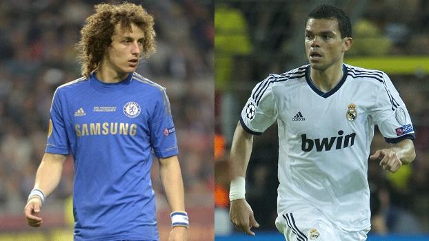 Segundo o 'Mundo Deportivo', David Luiz, do Chelsea, é o nome para substituir Pepe no Real Madrid