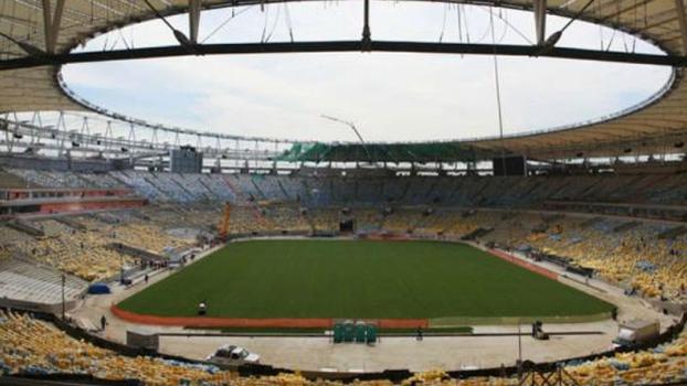 Cobertura do Maracanã está quase pronta