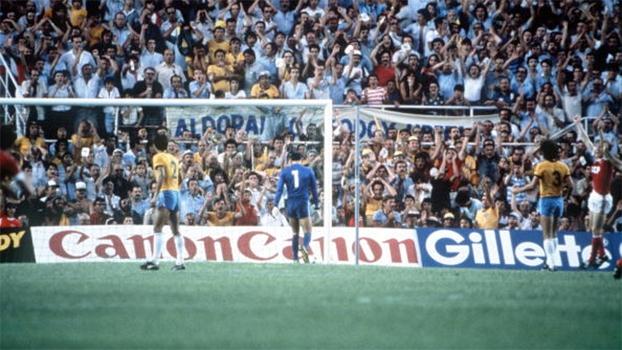 Bal marcou o gol da União Soviética contra o Brasil em 82, em falha de Waldir Peres