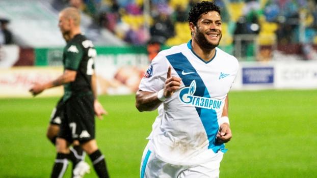 Hulk Comemora Gol Zenit Krasnodar Campeonato Russo 18/10/2014