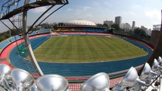 Pista de atletismo - Estádio Ícaro de Castro Mello