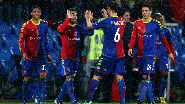 Basel faz a festa: time suíço está na semifinal da Europa League
