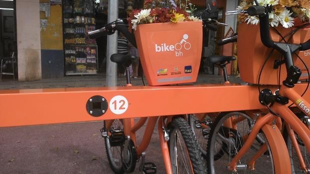 Bike BH tem quatro estações em funcionamento. São 40 bicicletas disponíveis.
