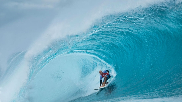 Slater prestou a sua homenagem ao brasileiro