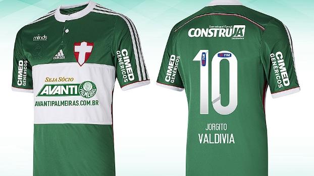 Palmeiras usará a camisa diante do Atlético-PR neste domingo