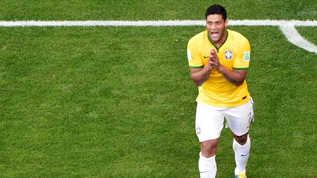 Hulk, durante a última Copa do Mundo