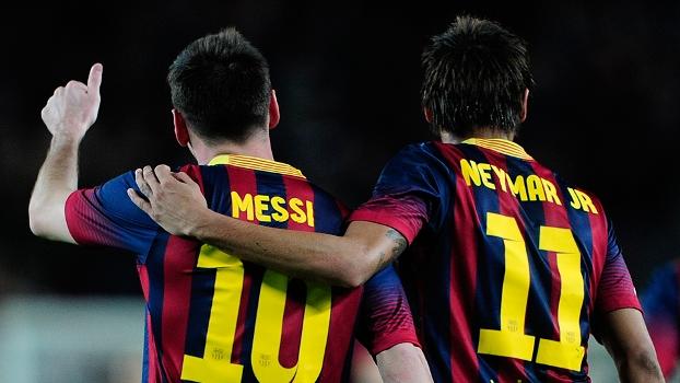 Messi e Neymar: para o presidente, a dupla ainda dará muitas alegrias à torcida do Barcelona