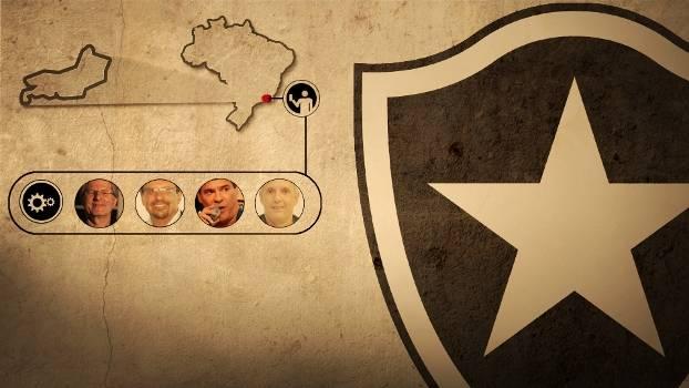 Eleição no Botafogo tem quatro candidatos a presidente