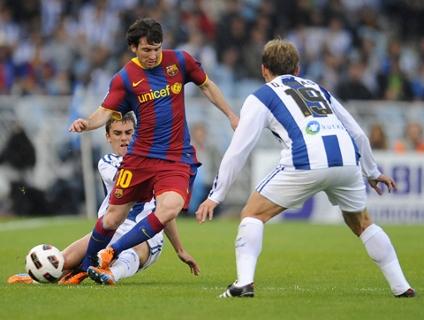 Clique no player acima para ver os gols da vitória do Real Sociedad!
