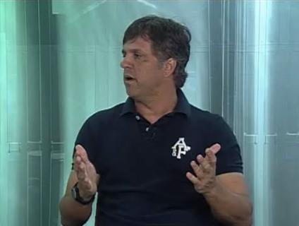 Rogério Lourenço, técnico do Flamengo