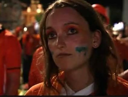 Holandeses lamentaram novo revés em final de Copa do Mundo