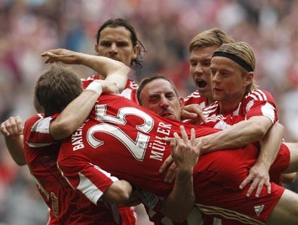 Clique no player acima para ver os gols da vitória do Bayern!