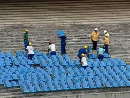 Estádio gastará cerca de 880 milhões de reais