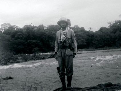 Lévi-Strauss em suas expedções