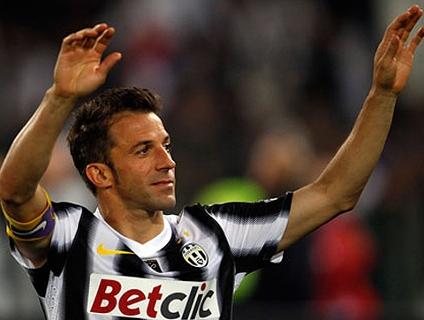 Clique no player e relembre gols de Alessandro Del Piero!