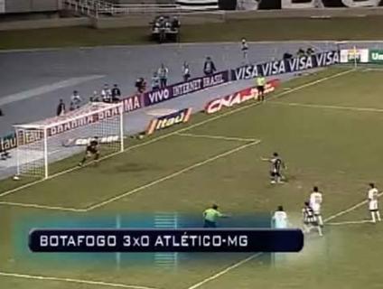 O Botafogo não tomou conhecimento do Atlético-MG e atropelou no Engenhão; veja a reportagem